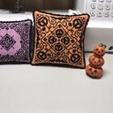 These are a few free small patterns I received from a friend and got them actually finished into little pillows today.