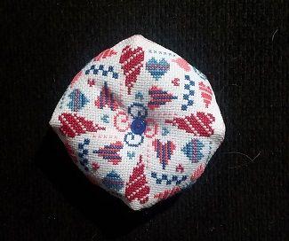 The Floss Box biscornu #482
