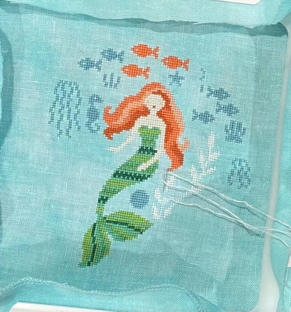 This is my current progress on Mermaid Garden