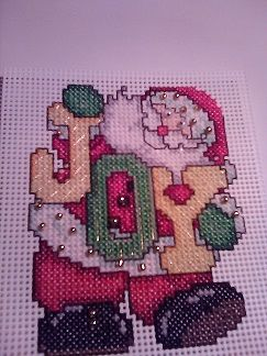 Design Works Joy Santa 14 count Plastic Canvas