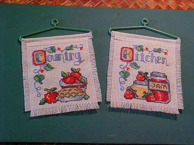 Stitch 'N Hang Apples<br />NeedleMagic/Inc<br />18 count Aida