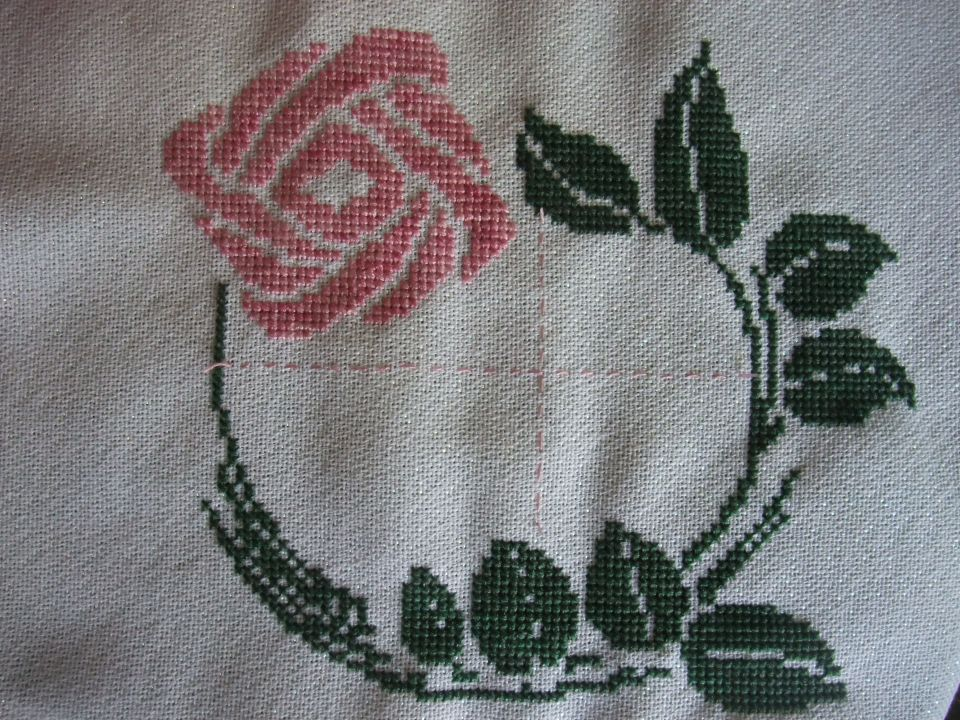 I was looking for something to stitch for a friend's son's wedding and came across this older gift from Patty . I think it will work out great once I figure out the charting for the names and date!  I finished the main stitching last night.Thank you Patty